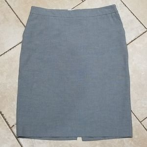 Old Navy Gray Pencil Skirt Low Waist Professional